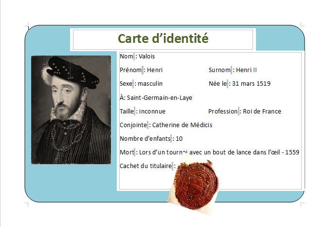 carte didentite